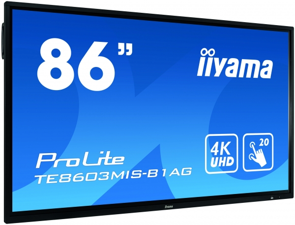 ProLite TE8603MIS-B1AG 86'' interaktives LCD Touch-Display mit integrierter Software